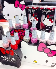 #DearCupid Put every one of these O-P-I Hello Kitty collection nail polishes on my Valentine's Day wish list! @ultabeauty #MeadowbrookMall