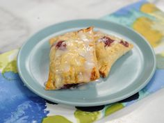 Lemon Blueberry Hand Pies Recipe : Jeff Mauro : Food Network - FoodNetwork.com