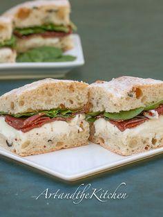 ArtandtheKitchen: Bresaola Mozzarella Sandwich