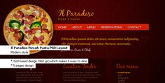 Shopping Il Paradiso, Pizza & Pasta - Restaurant PSD Layoutwe are given they also recommend where is the best to buy