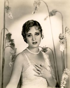c.1930 portrait of Dolores Costello by Fred Archer