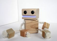 Wooden Ninja Robot by WoodPlaneAndSimple on Etsy | 최 | Pinterest ...