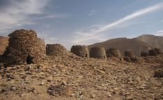Beehive #tombs of Oman - so where are the bodies? #history #ancient