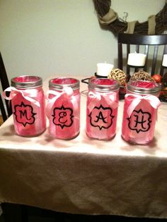 Decorations | these would be so cute for center pieces for recruitment!! !