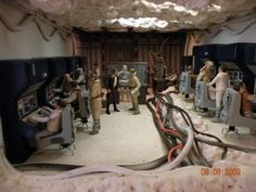 Echo Base Control Room (Star Wars) Custom Action Figure