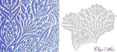 Discussion on LiveInternet - Russian Online Diaries Service Free Crochet Doily Patterns, Crochet Circles, Crochet Motif, Stitch Patterns, Tunisian Crochet, Thread Crochet, Irish Crochet, Crochet Stitches, Mantel Redondo