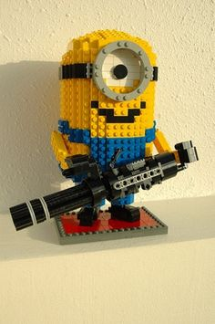 Despicable Me Lego Minions: A LEGO® creation by Eugene Tan : MOCpages.com