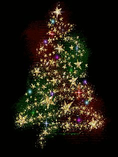 Christmas trees glitter gifs