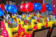 don't use just ordinary invitations!! have your #kids use #invitebandz for this fun-filled #party! #comics #superhero #decorations #favors