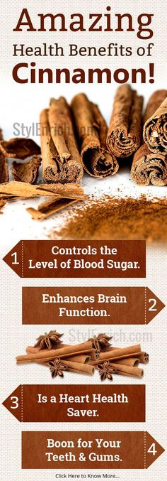 However, cinnamon is also a great natural medicine to include in your daily diet. The health benefits of cinnamon are numerous, and they can help you lead a healthier lifestyle. Cinnamon Health Benefits, Lemon Benefits, Coconut Health Benefits, Heart Attack Symptoms, Stomach Ulcers, Heart Health, Natural Medicine, Natural Cures, Natural Healing