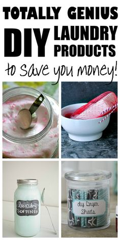 Completely Genius, DIY Laundry Products to Save You Money - Dory Fitz