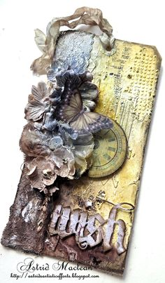 Mixed Media Tag by Astrid