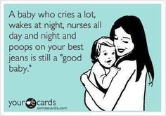 All babies are good babies!