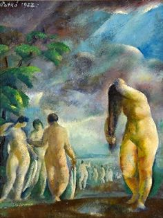 Bathers by Karoly Patko-Hungary