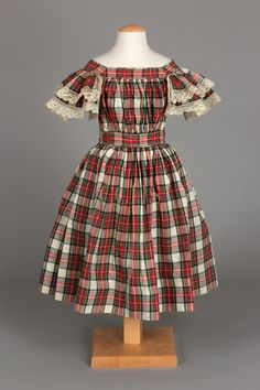 Child's dress, about 1875 | Chester County Historical Society