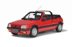 PEUGEOT 205 CTI - Street cars - Car models - Die-cast | Hobbyland Scale model car made of resin in 1:18 scale manufactured by OTTOmobile.  It is just a small version of a real car suitable for collectors.  Handmade.  Composition: resin and plastic
