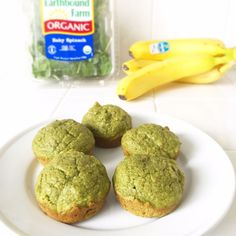 This Healthy Breakfast Muffins Recipe for Toddlers tastes delicious and is jam-packed with spinach, bananas and other nutritious ingredients.