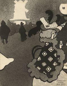 Episode du jour de l'An à Paris (japonería)   Museu Nacional d'Art de Catalunya Paris, Art Nouveau, National Museum, D Day