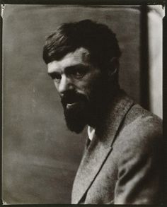 D.H.Lawrence,1923 by Nickolas Muray