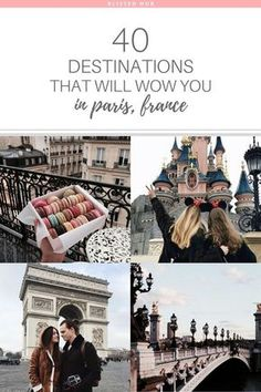 Ah yes, Paris, the city of love. Prepare to indulge in the ultimate travel guide and see the 40 must see attractions in Paris, France! Paris Things To Do, Must Do In Paris, Paris Torre Eiffel, Paris Bucket List, Hotel Des Invalides, Paris 3, Paris In 4 Days, Paris In October, Montmartre Paris