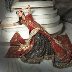 Bridal Wedding Dresses 2014 for Pakistani Brides