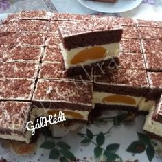 Flamingó szelet Cake Shop, Homemade Cakes, Oreo, Food, Patisserie, Essen, Meals, Yemek, Pastry Shop