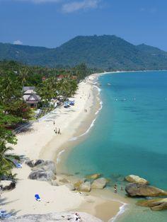Photographic Print: Poster of Lamai Beach, Ko Samui Island, Thailand by Katja Kreder : Koh Samui Thailand, Ko Samui, Lamai Beach Koh Samui, Thailand Beach, Thailand Honeymoon, Thailand Travel Tips, Visit Thailand, Asia Travel, Thailand Resorts