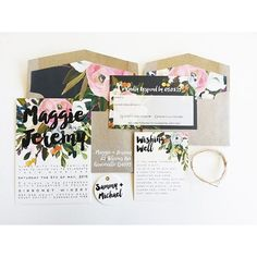Are you getting married soon?!? This is the perfect wedding suite for you. Search 'lola wedding invitation' on dtll.com.au or click on the shopable link in our profile to buy #dtll #downthatlittlelane
