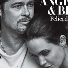 Brad Pitt And Angelina Jolie Get Cozy For Vanity Fair Italia