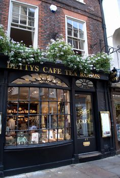 Betty's Tea Rooms, York ... The Most Famous Cafe in England!