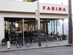 Farina restaurant in the Mission in San Francisco. They one an award one year for having the best pasta.
