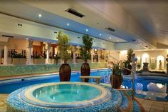 4* Derby Spa, 3-Course Dinner & Bottle of Wine for 2