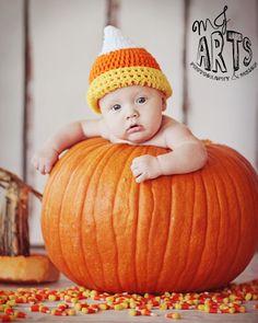 #candycorn #baby #halloween #pumpkin #childrensphotography