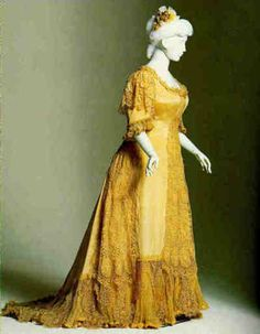 Evening dress ca. 1890