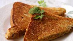 Black Eyed Peas Sandwich Recipe ~ Lobia Sandwich ~ Indian Sandwich Recipes