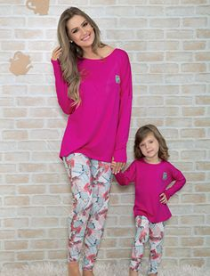 Mommy and Me Fashion Mother Daughter Pictures, Mother Daughter Outfits, Mommy And Me Outfits, Womens Pj Sets, Womens Pjs, Matching Pajamas, Mothers Day Presents, Pyjamas, Nightwear