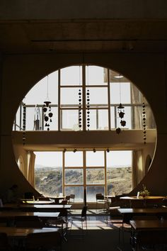 The entire view through the window is the high desert - Arizona