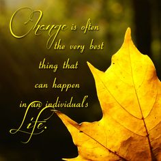Change is often the very best thing that can happen in an individual's life... From the Blog - http://wp.me/p2Crca-db and http://www.justjoyministries.com