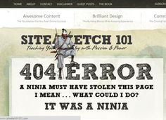 These 404 Pages Will Make You Want to…