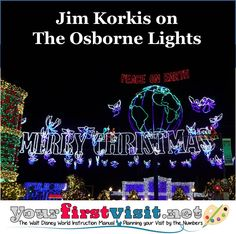 The Osborne Spectacle of Dancing Lights has been exhibited for twenty Christmases beginning in 1995. Disney has announced that this year is the final appearance of this breath-taking experience. Over the years, the show has undergone several changes but here are a few items that guests may have missed over the years.