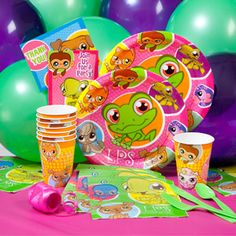 Littlest Pet Shop Party Pack for 8