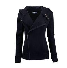 Tom's Ware Women Slim fit Zip-up Hoodie Jacket, $39.99