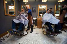 Modern Barber Shop Interior - Home Designs