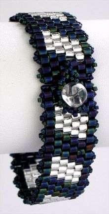 Colour Blocks Cuff Bracelet