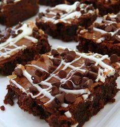 Peanut Butter Nutella Brownies, really good easy brownies!