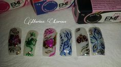#foil #nails #gelnails #nailart #unhasdecoradas #unhasdegel #artnail #unhasdegel #artnail #love #nailslove