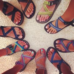 So I FINALLY got a pair of Chacos and I'm so happy