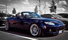 Blue NC Mazda Mx-5 by SouthWade