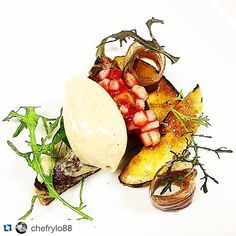 #Repost @chefrylo88 !!! Tag your best friends   Foie gras mousse house cured duck prosciutto French toast brûléed white peach and compote #foie #foiegras #peaches #frenchtoast #duck #prosciutto #thestaffcanteen #michelin #truecooks #expertfoods  #beautifulcuisines #theartofplating #wildchefs #nyc #chef #cheflife #chefsroll #dontshootthechef #chefstalk #ChefsOfInstagram #food #foodie #foodgasm #foodporn #instachef #foodstarz #truecooks #FOURmagazine #gastroart by repostfoodie