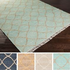 Shop for Hand-Woven Corsham Indigo Jute Rug (8' x 10'). Get free shipping at Overstock.com - Your Online Home Decor Outlet Store! Get 5% in rewards with Club O!